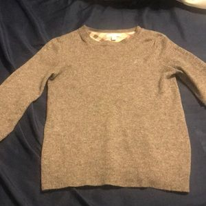 Authentic boys Burberry Cashmere Sweater